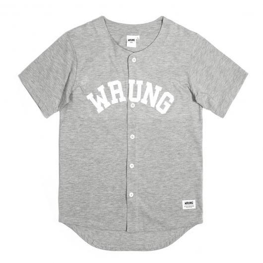 WRUNG Hitman maillot de baseball gris chiné 59,00 € #skate #skateboard #skateboarding #streetshop #skateshop @playskateshop