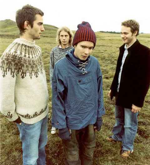 Sigur Ros. Mostly because they're amazing... partially because they sing in Icelandic.