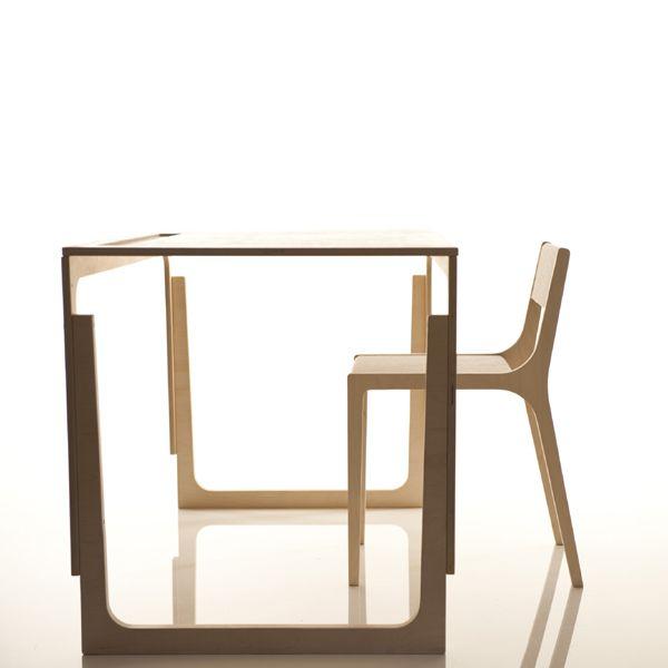 Kinderschreibtisch höhenverstellbar - Kindermöbel aus Holz