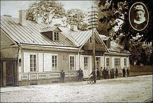 Pałace, dwory, dworki - Grodno - dworek Elizy Orzeszkowej ,1929 -