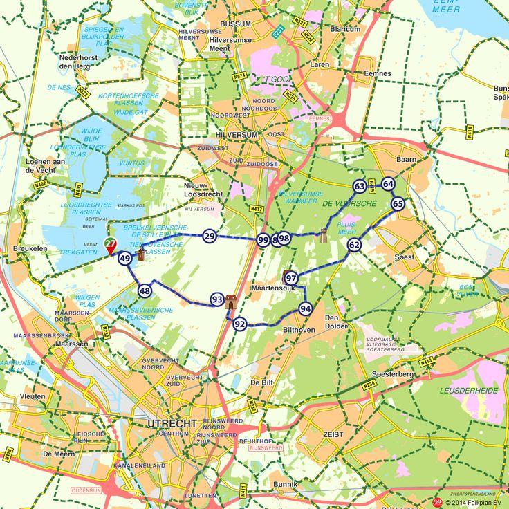 Fietsroute: Startend langs het water richting Bilthoven  (http://www.route.nl/fietsroutes/153430/Startend-langs-het-water-richting-Bilthoven/)