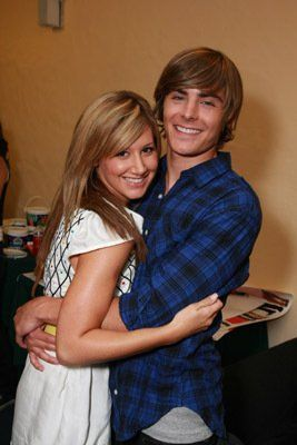 Ashley Tisdale and Zac Efron at event of High School Musical 3: Senior Year (2008)