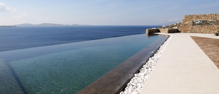 The New Entry Blue Horizon.  Tucked away in a slightly elevated position this stunning property owes its name to the postcard-worthy scenery one can enjoy from Blue Horizon's location, a panoramic view stretching over the Aegean sea, across to the islands of Delos, Rhenia and Paros all while also granting a front row seat to the sunset. Do you wish to know more about our new property ?? Visit..http://www.mykonosvillas.com/our-villas/blue-horizon