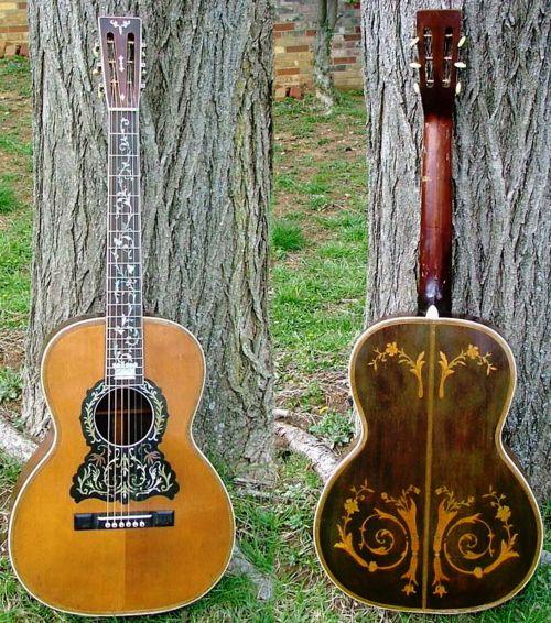 Beautiful Stella vintage guitars c. 1920's