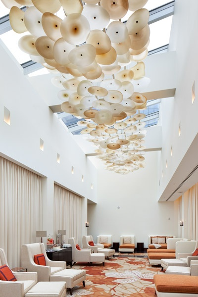 Jeff Goodman Ritz Carleton Spa - Enso Chandelier, Toronto