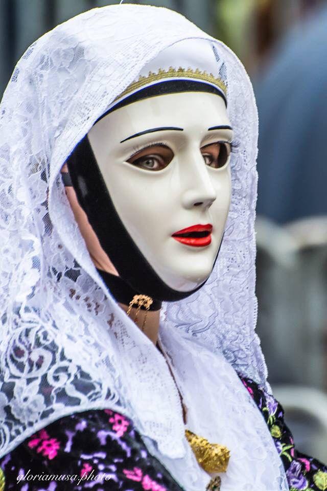 Donna di Sartiglia, foto Gloria Musa