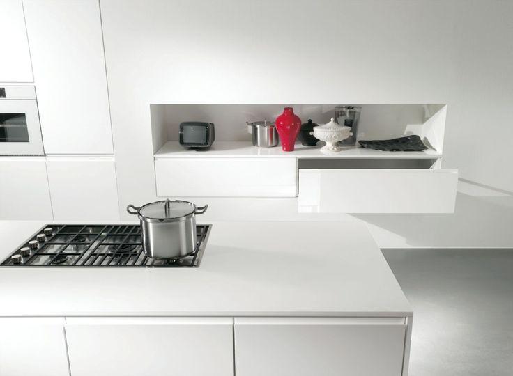 esaltazione del bianco in assoluto per la cucina GIGLIO: il bello ...