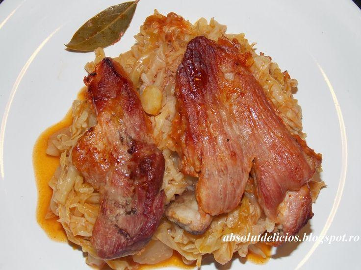 Absolut Delicios - Retete culinare: VARZA CU OREZ SI CARNE
