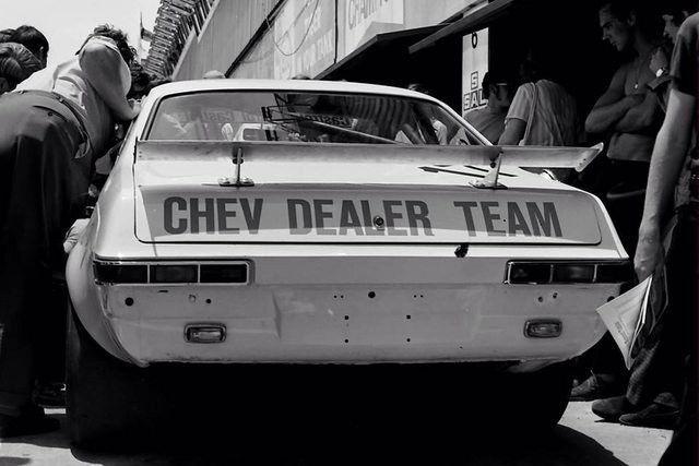 South African saloon car   racing.