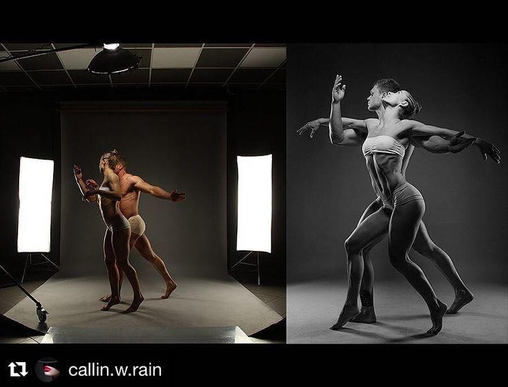 Image by @callin.w.rain With @antonyfitman & Eva | Backstage | #callinrain…