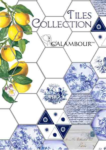 Calambour's newest paper collection is dedicated to tiles, a very versatile and stylish decorative element. Present in many different cultures, Tiles are the perfect ingredient to add color and texture to the decor of your home. These six papers, inspired by the famous Arabic tiles and by a heritage of beautiful Italian ceramics, will allow you to create realistic texture effects, giving a colorful touch to your decoration. Change the look of your home with the new Tiles Collection !