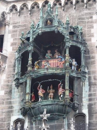 Glockenspiel, Munich Germany