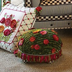Ottomans, Stools & Tuffets, Reminds me of the cute little Turtle Ottoman Kim has that I promised to recover for her