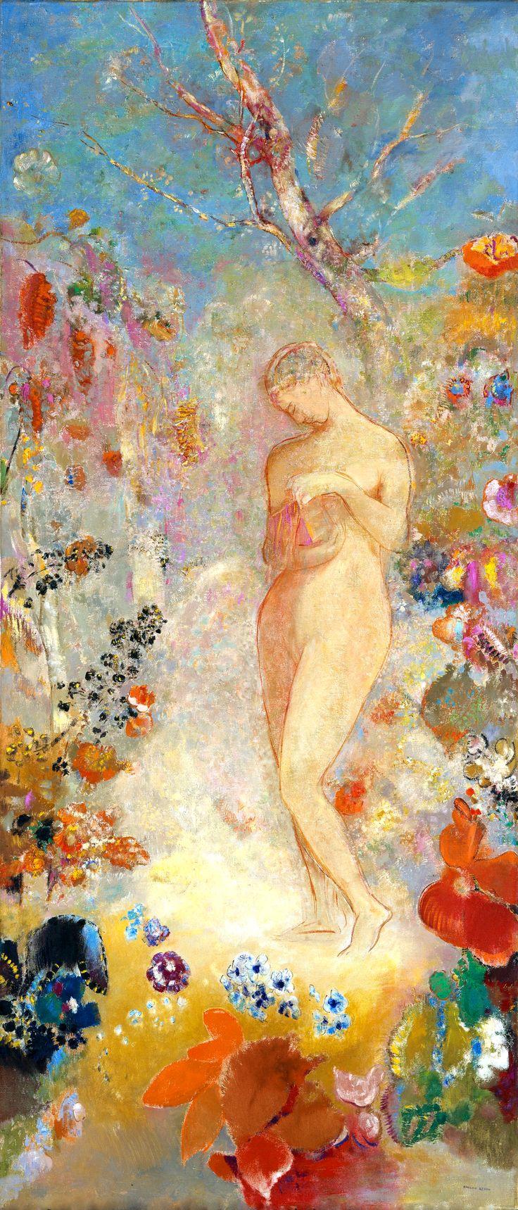 "Odilon Redon - ""Pandora"" (c. 1914)"