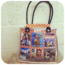 A Clippy bag is perfect for showing your support for Team GB, here's our Clippy handbag styled with some of our favorite Olympic photos.  What pictures would you include?