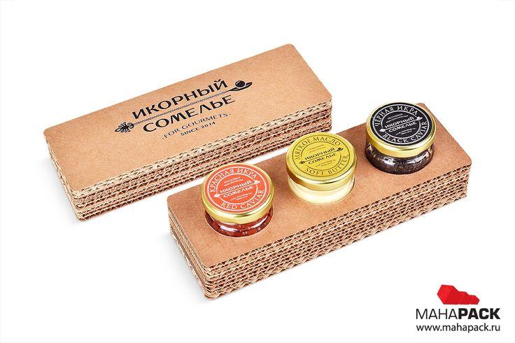 Подарочная коробка крышка-дно для банок с икрой под заказ   крышка дно, упаковка для сувениров, коробки производство, коробки с крышкой, изготовление подарочной коробки   Mahapack.ru - изготовление индивидуальной упаковки