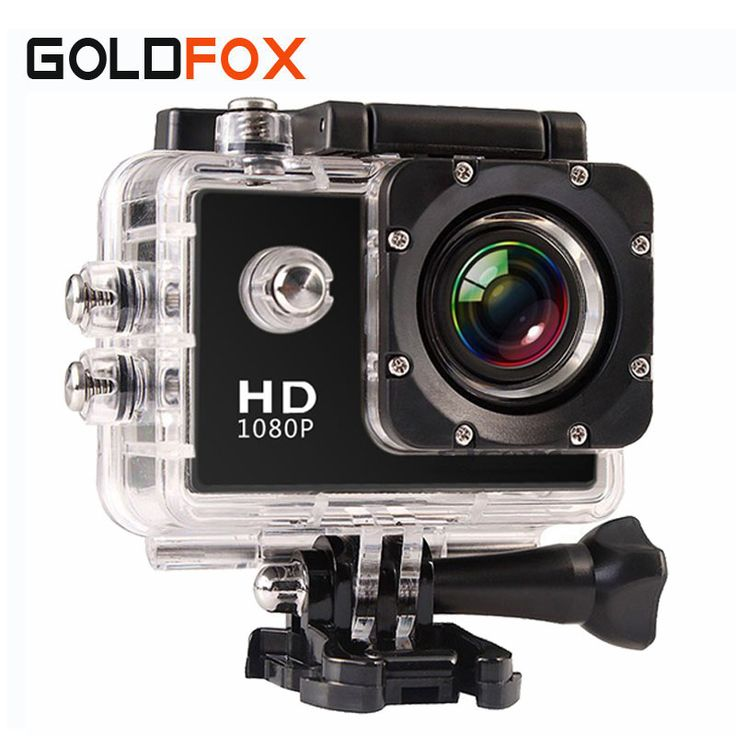 2016 New 720P HD Digital Photo Camera 30M Go Waterproof Pro Video Cameras Extreme Bike Helmet Cam Dvr with Retail Packing