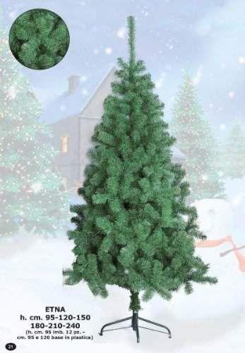 Albero di Natale ecologico ETNA cm 150