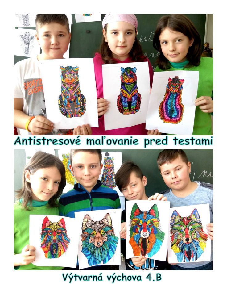 Art project kids antistres