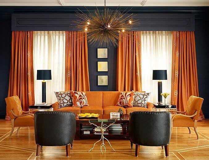 80 Best COLOR Orange Home Decor Images On Pinterest