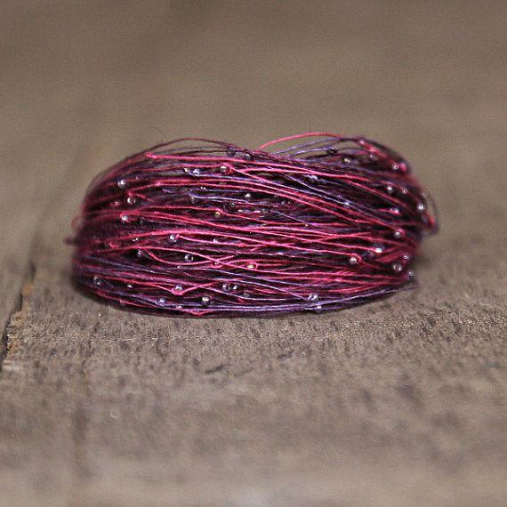 Christmas Gifts Jewelry Purple Pink Bracelet Gift by Naryajewelry