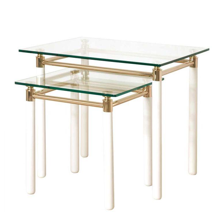 Tisch Set In Gold 2 Teilig Jetzt Bestellen Unter