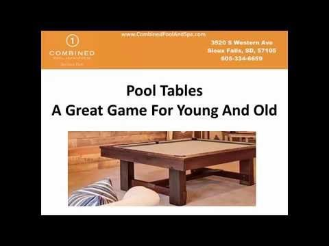 Pool Tables Sioux Falls, Hot Tub Sale http://CombinedPoolAndSpa.com ☎ 605-334-6659 Pool Tables: For Young And Old ☆ Huge Selection of Great Hot Tubs, Swim Spas, Saunas, Outdoor Furniture, Firepits! ❤ Great Service and Low Prices in Sioux Falls. 57106, 57103, 57104  Pool Table Sale Sioux Falls  Hot Tub Sale Sioux Falls