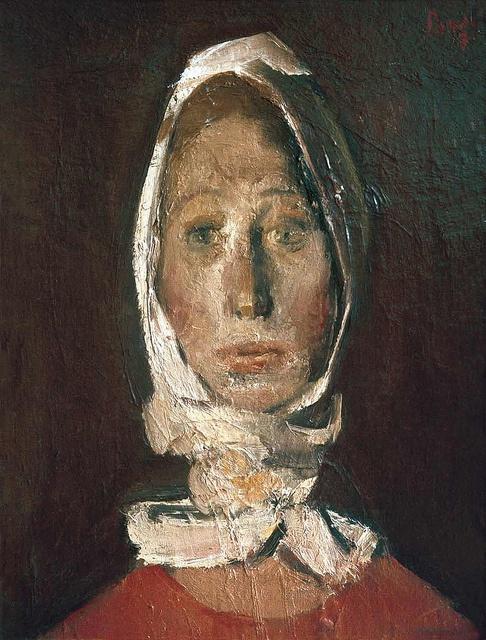 Corneliu Baba: Portrait of a Girl, 1974 by deflam, via Flickr