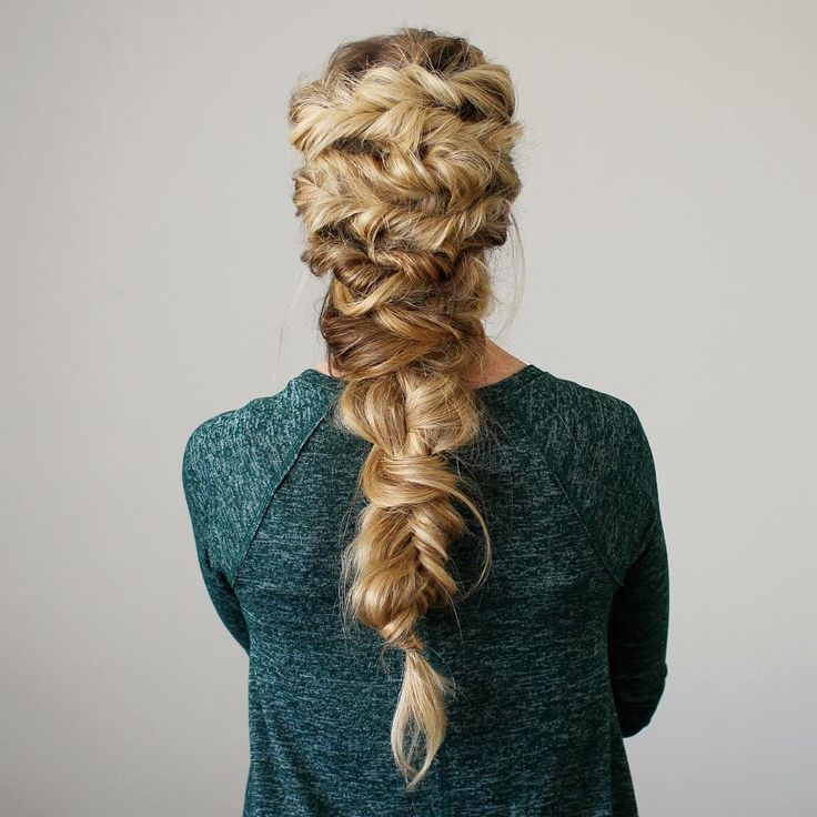 twisted mermaid braid - LOVE a big braid! | Prom ...