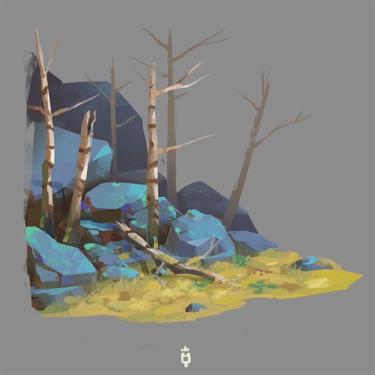 ArtStation - Rocks Needed, Jimmy Malachier