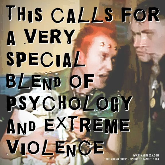 """""""This calls for a very special blend of psychology and extreme violence"""""""