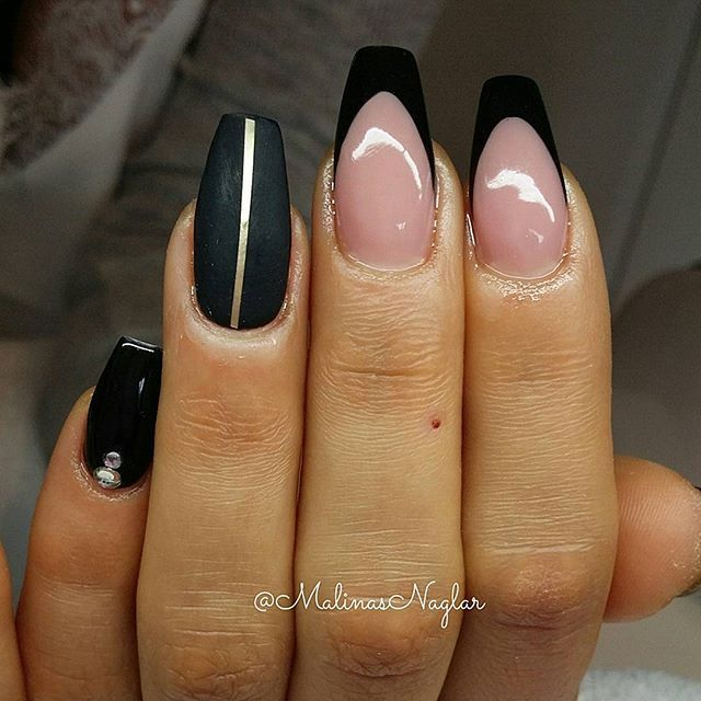 9 best Gelenaglar images on Pinterest | Cute nails, Glitter and Nail ...