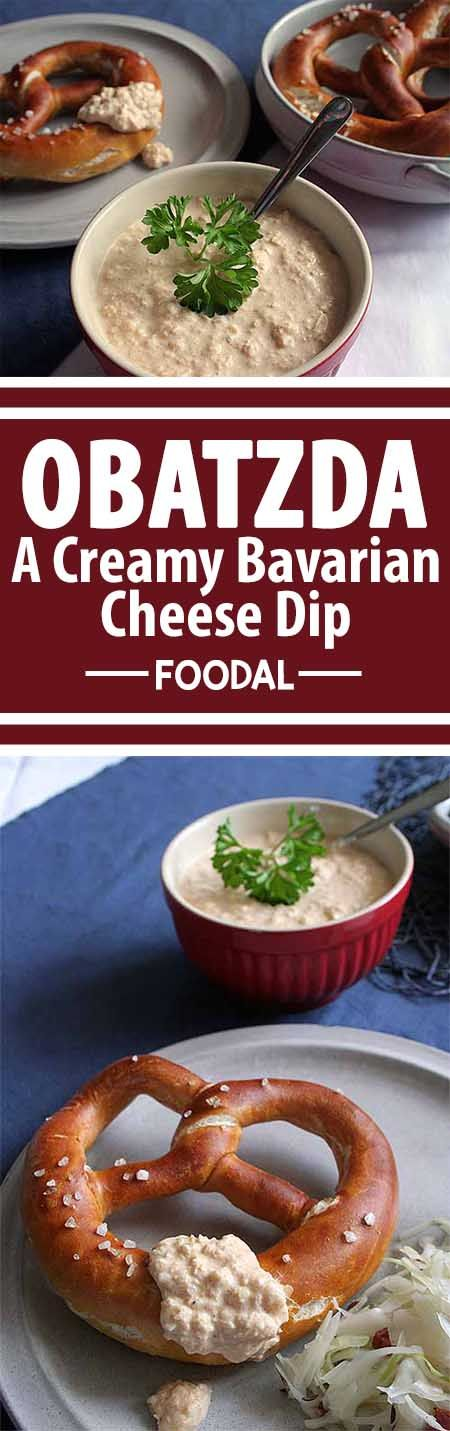 Enjoy a real taste of Bavaria at home with this fresh and savory dip that's perfect for snacking. Serve it with everything from some leftovers that need a little sprucing up to an authentic German meal. Get the traditional recipe and read more on Foodal. http://foodal.com/holidays/oktoberfest/obatzda/