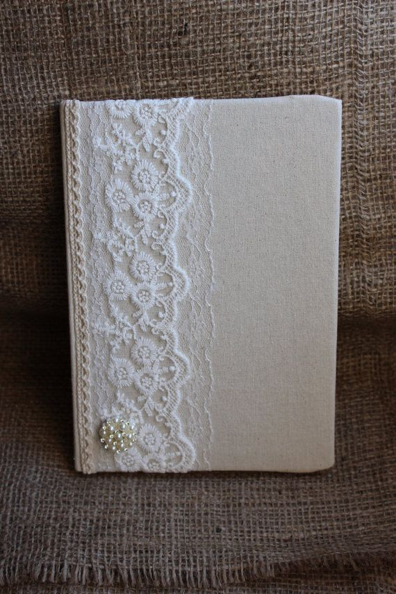 Victorian style lace 2017 diary. Vintage by EnchantedLaceDecor
