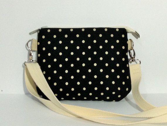 Small japanese linen bag small crossbody bag by KatunKatunBags