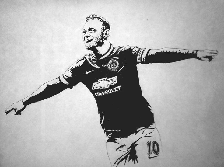 Wayne Rooney Illustration by Kislaya Sinha