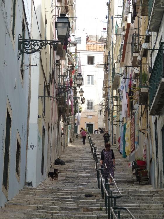 Ruelles de Lisbonne Portugal