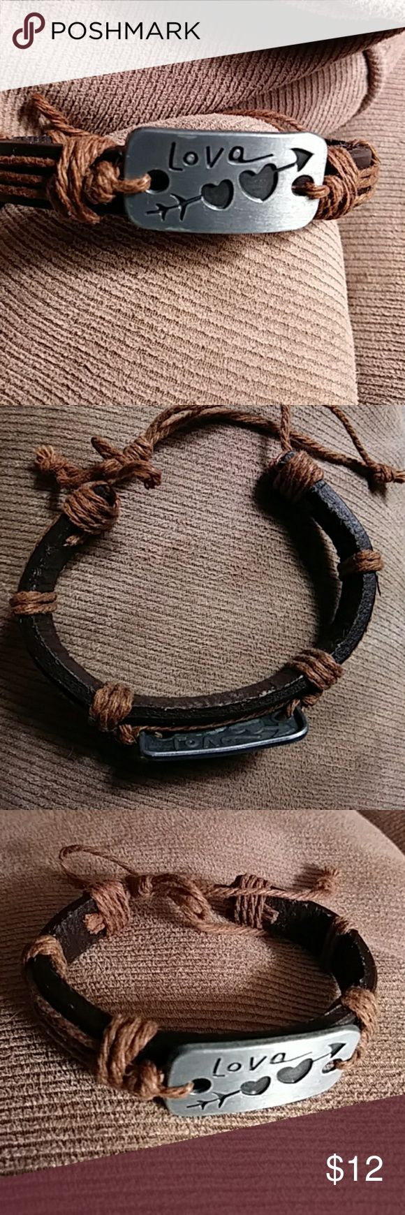 how to make a bracelet out of leather cord