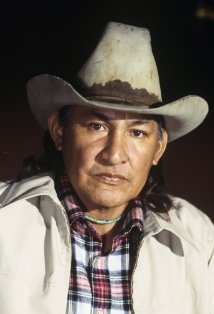 """Will Sampson ~ A Native American actor of the Creek Nation, Sampson's """"big break"""" came from his memorable role in One Flew Over the Cuckoo's Nest opposite Jack Nicholson. He was also starred opposite Clint Eastwood in the western The Outlaw Josey Wales."""
