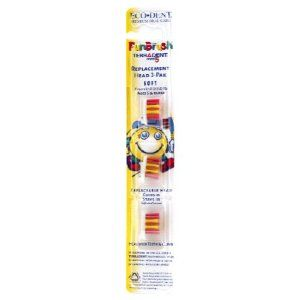 Funbrush Refill Child Soft 3 Brushs by Terradent. $3.16. Serving Size:. 3 Brushs. REPLACEMENT HEADS ONLYEcoDent - TerrADent Replaceable Heads. These nylon bristles have exceptionally consistent and superior quality. The heads lock into place and do not dislodge with use. Replacement heads come in a handy 3-pack; you essentially get 3 toothbrushes for the price of 1, with less waste and a much lower bacterial load. These factors are key when it's time for a new brush due to use...
