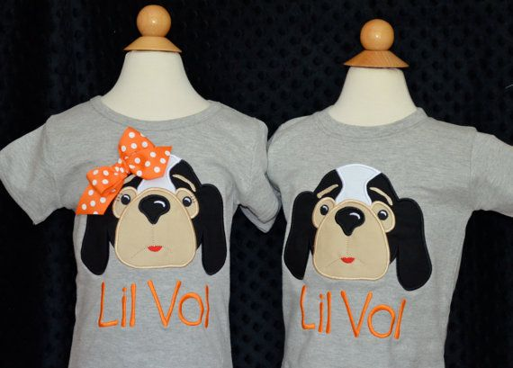 Personalized Football Smokey Hound Dog Face Applique Shirt