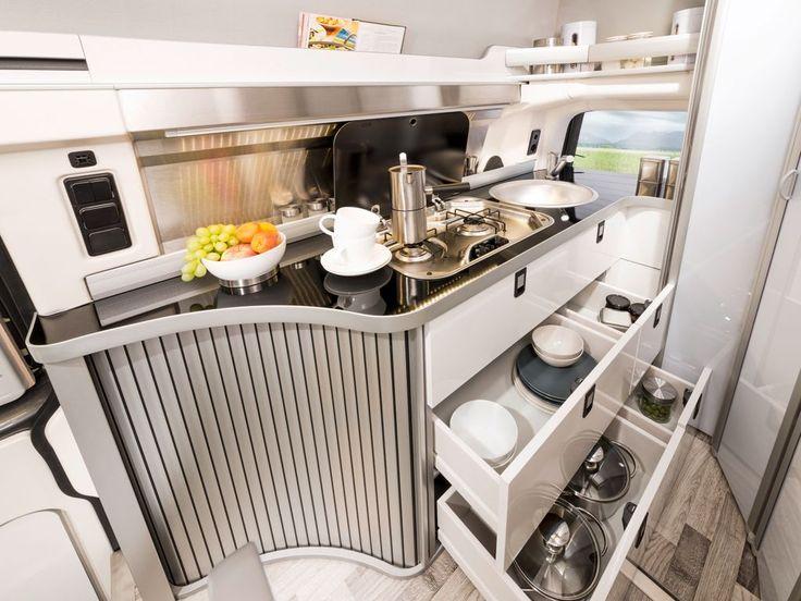 Club Joker Westfalia storage space in the kitchen