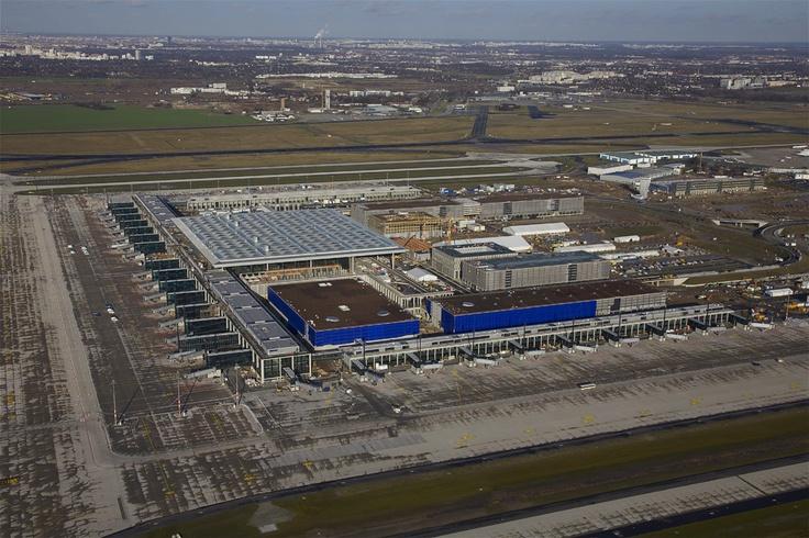 """Berlin Brandenburg Airport """"Willy Brandt"""" Opening June, 2012"""