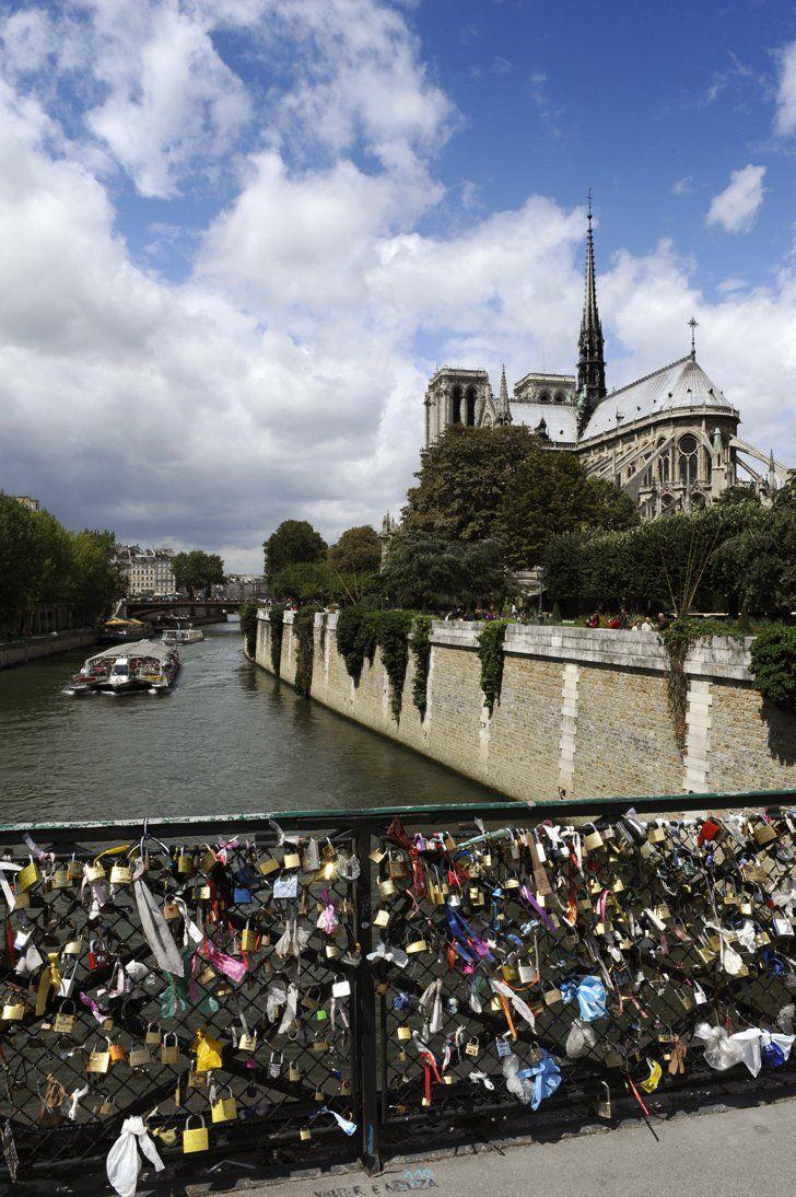 Pin for Later: Love Locks, la Fin D'une Jolie Tradition Pont des Arts, Paris