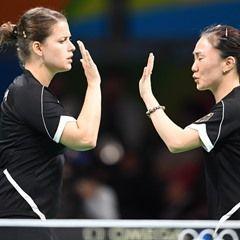 Rio 2016 Olympic Games - Women's Team Semifinal Table Tennis