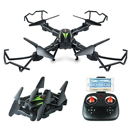 Quadcopter Drone HD Camera FPV Wifi Foldable With APP Control One Key Return NEW