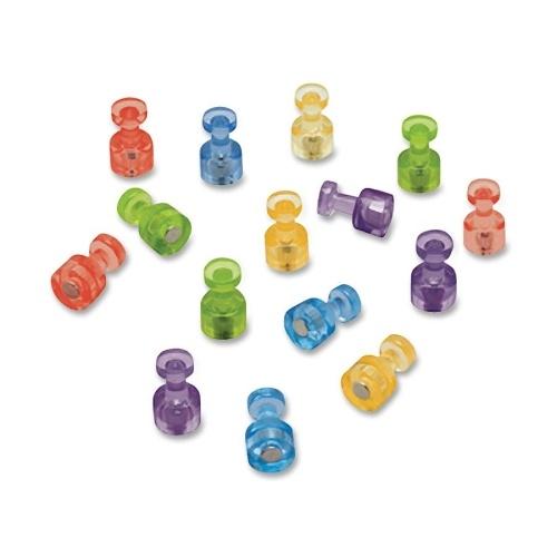 Enhanced Product Detail for QRTMPPC: Quartet Assorted Color Magnetic Push Pins