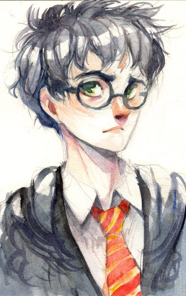 harry potter by spikie