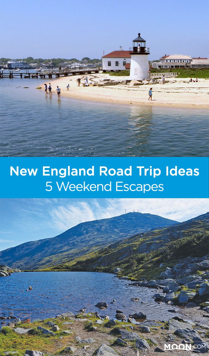 New England is compact, making it easy to explore on on a weekend road trip.  Here are 5 ideas for a quick getaway to the mountains, the beach, or the  valley ...