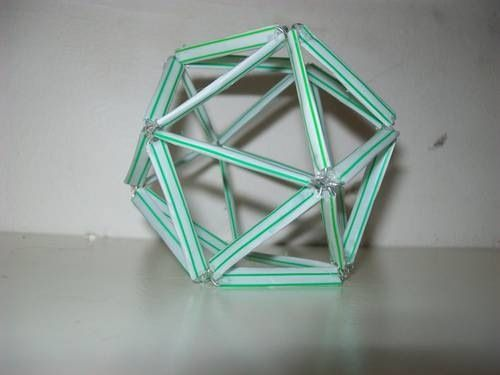 Polyhedron Made From Straws